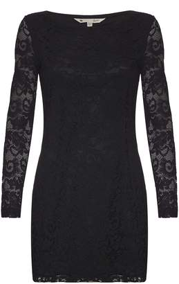 Yumi London Womens/Ladies Lace Long Sleeve Bodycon Dress