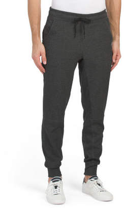 Scuba Joggers With Zip Pocket