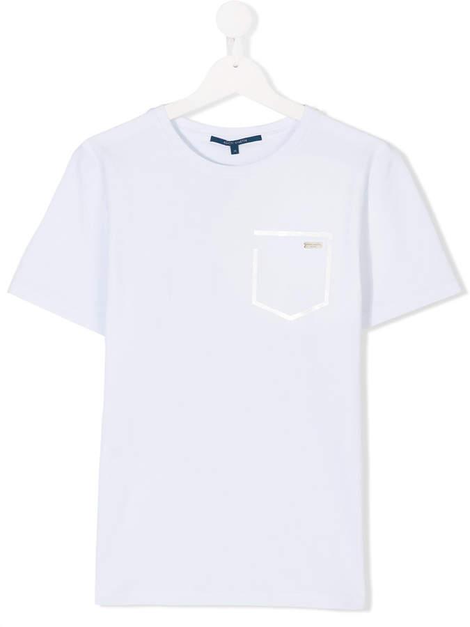 Aston Martin Kids TEEN pocket detail T-shirt