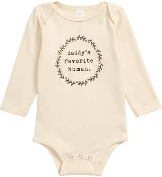 Tenth & Pine Daddy's Favorite Human Organic Cotton Bodysuit