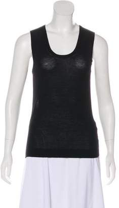 Calvin Klein Collection Cashmere Sleeveless Knit Top
