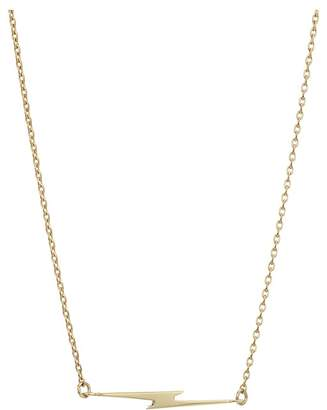 Shinola Detroit - 14K Yellow Gold Simple Bolt Chain Necklace