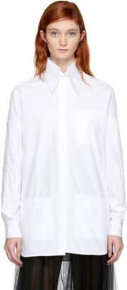 Christopher Kane White Stacked Pocket Shirt