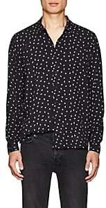 Ksubi Men's Ebeneza Twill Shirt - Black