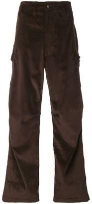 E. Tautz corduroy cargo trousers