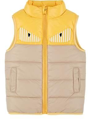 Fendi Kids' Bag Bugs Padded Vest