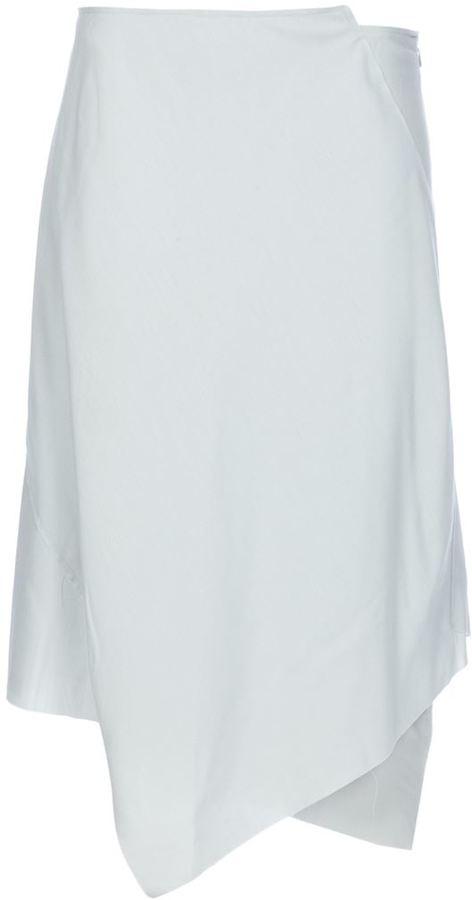 Maison Martin Margiela Vintage drape layered skirt