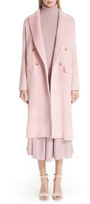 Max Mara Zarda Alpaca Double Breasted Coat