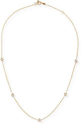 Roberto Coin 18k Gold Diamond Station Necklace