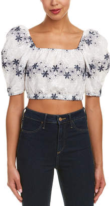 Do & Be DO+BE Do+Be Off-The-Shoulder Crop Top