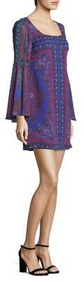 Nanette Lepore Moondance Silk Shift Dress $498 thestylecure.com