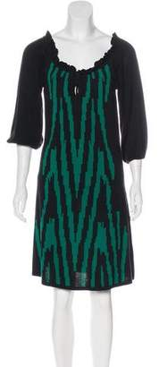 Temperley London Knit Silk Dress