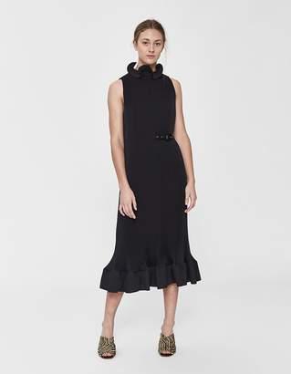 Tibi Pleated Sleeveless Dress