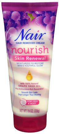 Nair Nourish Renewing Swirls Body Cream