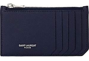 Saint Laurent Men's Zip Pouch - Navy