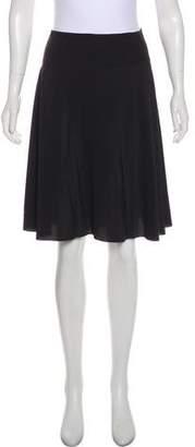 Emilio Pucci Silk Knee-Length Skirt