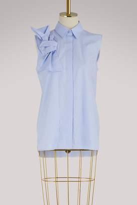 Victoria Victoria Beckham Sleeveless bow shirt