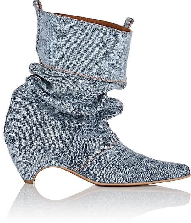 Stella McCartney Women's Denim Slouchy Boots
