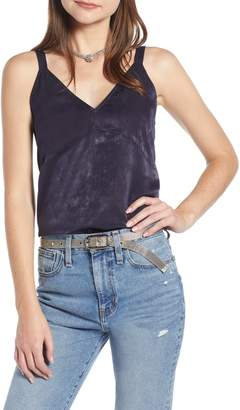 Something Navy Wide Strap Camisole
