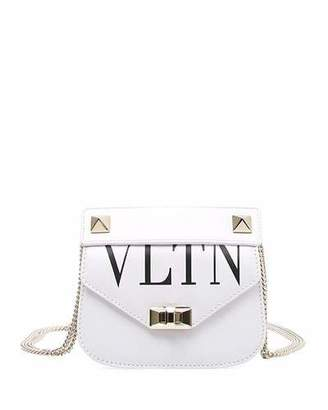 Valentino VLTN Small Smooth Leather Chain Shoulder Bag