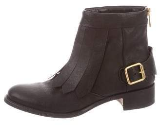 Rupert Sanderson Leather Ankle Boots
