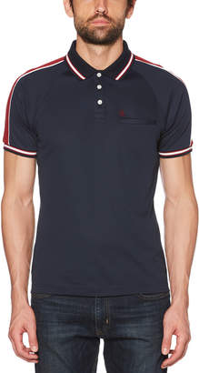 Original Penguin RAGLAN COLOR BLOCK POLO