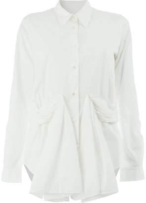 Aalto draped formal shirt