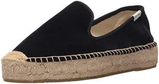 Soludos Women's Velvet Smoking Slipper Loafer Flat