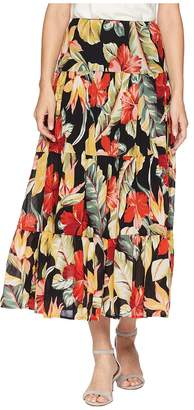 Chaps Tiered Maxi Skirt Women's Skirt