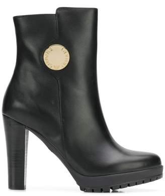 Emporio Armani platform boots