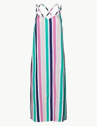 Marks and Spencer Striped Slip Beach Dress