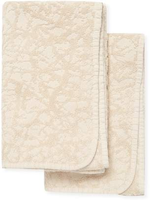 Habidecor Abyss & Graph Cotton Hand Towels (Set of 2)