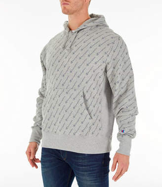 Champion Men's Reverse Weave Allover Hoodie