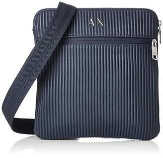 Armani Exchange Lines Crossbody Bag Men's Messenger Bag,(B x H x T)