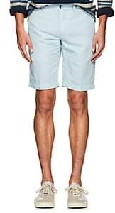 Pt01 Men's Linen-Cotton Bermuda Shorts-Lt. Blue