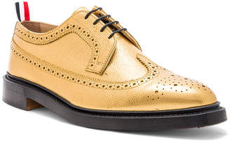 Thom Browne Classic Pebble Grain Longwing Brogue