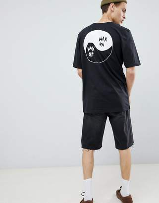 Quiksilver Good Bad T-Shirt in Black