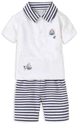 Kissy Kissy Boys' Nautical Bermuda Polo & Striped Shorts Set - Baby