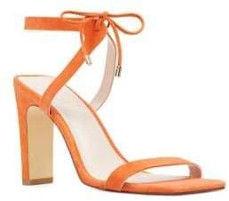 Nine West Longitano Suede Sandals