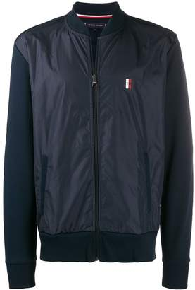 Tommy Hilfiger panelled sports jacket