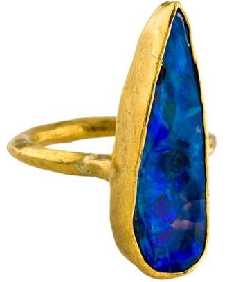 Margery Hirschey 22K Opal Cocktail Ring
