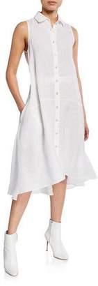 Palmer Harding palmer//harding Sedona Sleeveless Button-Down Midi Shirtdress