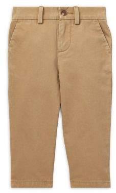 Ralph Lauren Childrenswear Baby Boy's Twill Cotton Pants