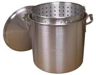King Kooker KING KOOKER Model# KK80-80qt. Alminum Boiling Pot with Lid and Basket