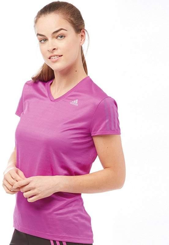 Damen Response ClimaLite T-Shirt Lila