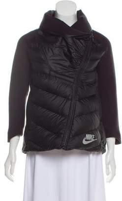 Nike Zip-Up Down Jacket
