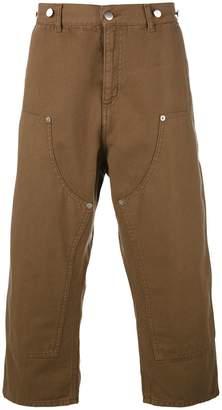 Paura Carlini cropped trousers