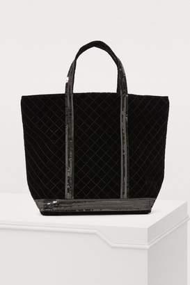 Vanessa Bruno Velvet medium shopping bag