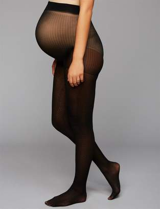 Herringbone Maternity Tights