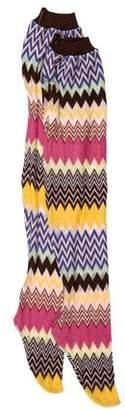 Missoni Knit Long Socks w/ Tags